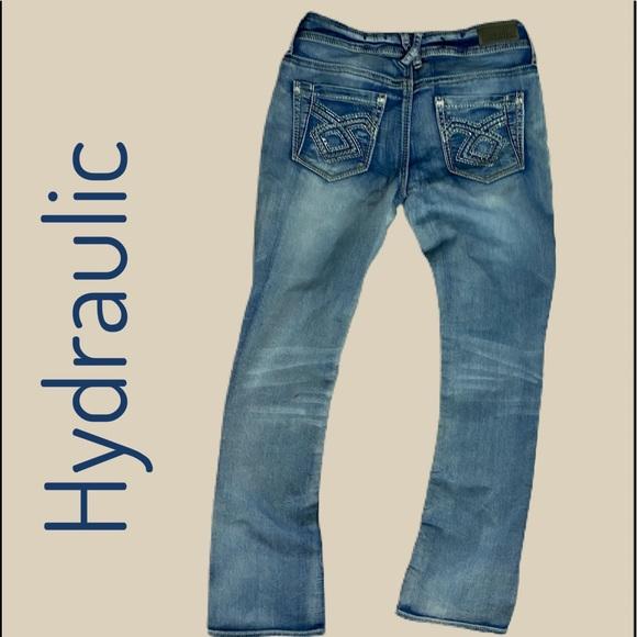 hydraulic lola curvy jeans